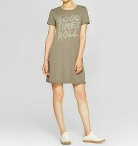 LET THE GOOD TIMES ROLL Tee Shirt Dress